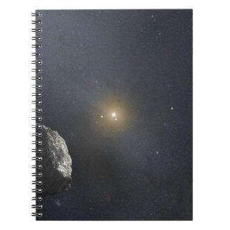 Kuiper Belt Object - Artists Concept Spiral Notebook