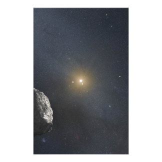 Kuiper Belt Object - Artists Concept Stationery