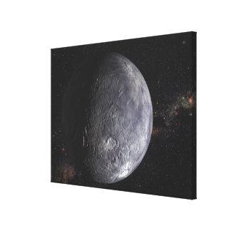 Kuiper Belt Object Canvas Print