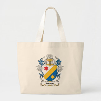 Kuipers Family Crest Tote Bags