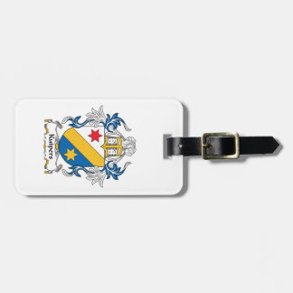 Kuipers Family Crest Travel Bag Tags