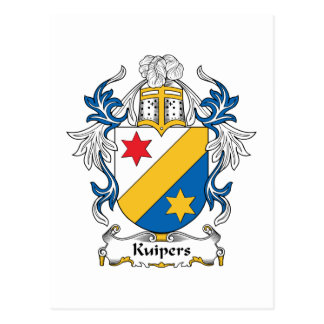 Kuipers Family Crest Postcard
