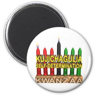 Kujichagulia 2 Inch Round Magnet