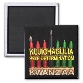 Kujichagulia 2 Inch Square Magnet