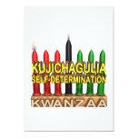 Kujichagulia Invitación 12,7 X 17,8 Cm