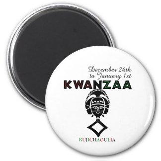 Kujichagulia - Self Determination 2 Inch Round Magnet