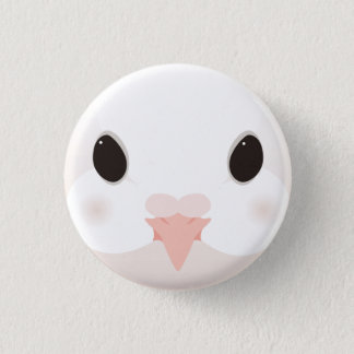 kujiyakubato - Fantail pigeon Pinback Button