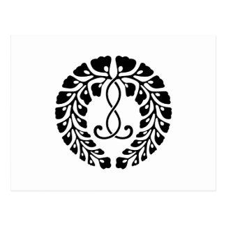 Kujo wisteria postcard