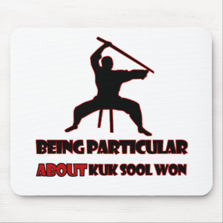 Kuk Sool Won Designs Mouse Pad