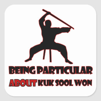 Kuk Sool Won Designs Square Sticker