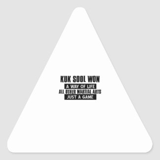 Kuk Sool Won Gifts Triangle Sticker