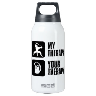 Kuk-Sool-Won my therapy Insulated Water Bottle