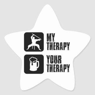 Kuk-Sool-Won my therapy Star Sticker
