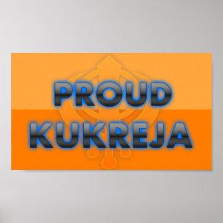 Kukreja orgulloso orgullo de Kukreja Impresiones