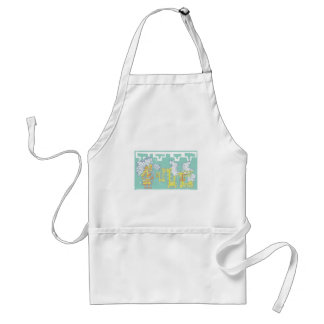 Kukulcan and Warrior Aprons