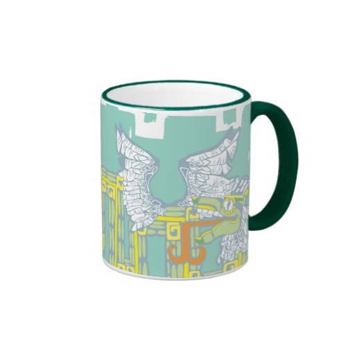 Kukulcan and Warrior Coffee Mugs