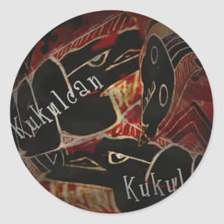 Kukulcan Products Classic Round Sticker