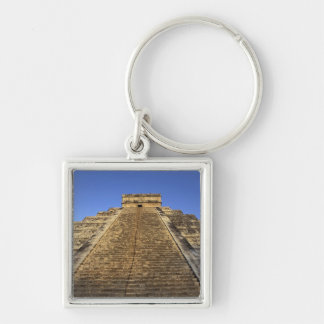 Kukulcan Temple or Castillo Castle) in 2 Keychain