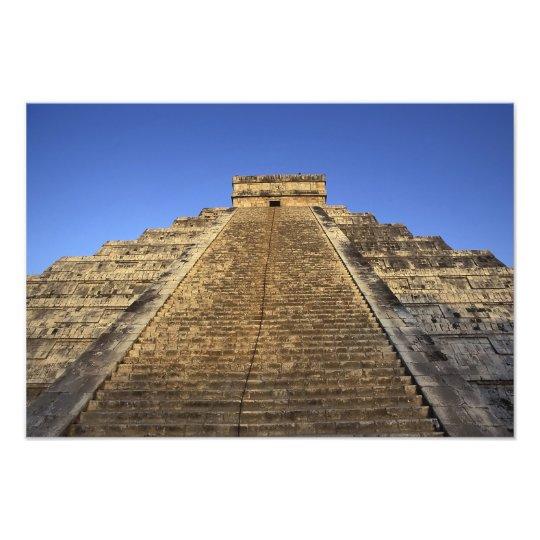 Kukulcan Temple or Castillo Castle) in 2 Photo Print