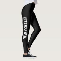 Kukuwa Fitness® Inspired Leggings