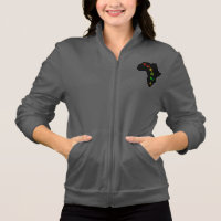 Kukuwa® Instructor Women's Fleece Zip Jogger Jacket