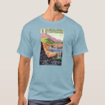Kuling China Vintage Travel Poster Restored T-Shirt