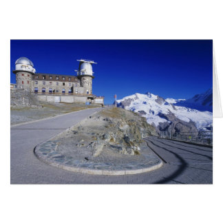 Kulm hotel and trail, Gornergrat, Zermatt, Card