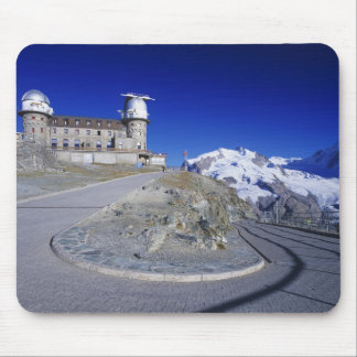Kulm hotel and trail, Gornergrat, Zermatt, Mouse Pad