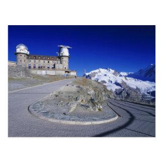 Kulm hotel and trail, Gornergrat, Zermatt, Postcard