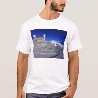 Kulm hotel and trail, Gornergrat, Zermatt, T-Shirt