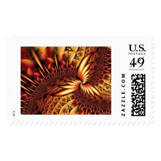 Kult 3 postage stamps