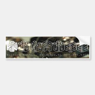 Kulture Tattoo Bumper Sticker