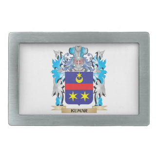Kumar Coat of Arms - Family Crest Belt Buckle
