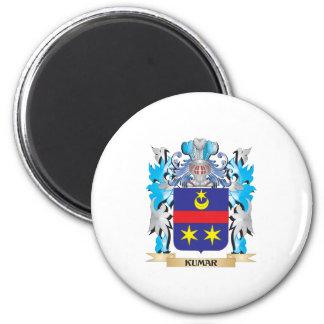 Kumar Coat of Arms - Family Crest Fridge Magnet