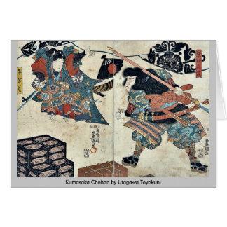Kumasaka Chohan by Utagawa,Toyokuni Card