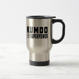 Kumdo is my superpower coffee mugs