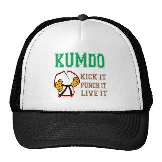 Kumdo Kick it, Punch it, Live it Mesh Hats