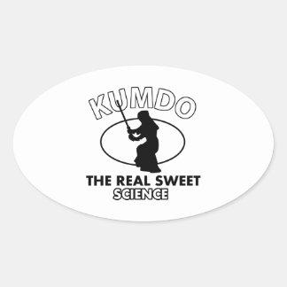 Kumdo Martial Arts Designs Sticker