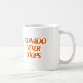 Kumdo Never Stops Mugs
