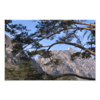 Kumgang Mountain in North Korea Photo Print