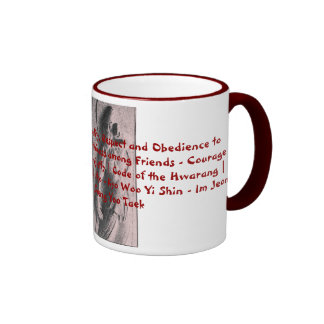 Kumgang Yuksa Coffee Mug