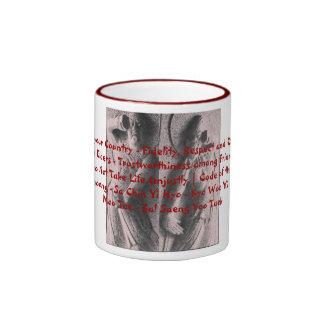 Kumgang Yuksa Ringer Coffee Mug