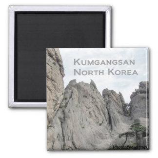Kumgangsan North Korea Fridge Magnet