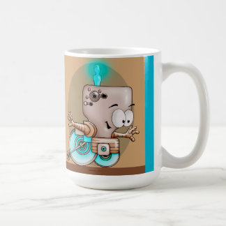 KUMO ROBOT CARTOON Classic White Mug