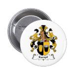 Kumpf Family Crest Button