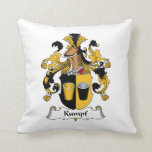 Kumpf Family Crest Throw Pillow