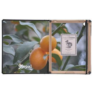 Kumquats de Nepal iPad Carcasa