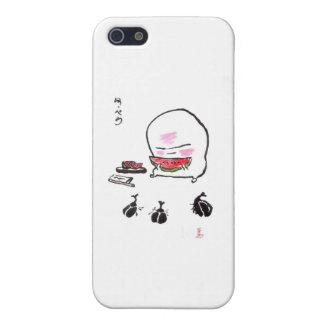 kun- 1 del nuppera - sandía iPhone 5 cárcasa