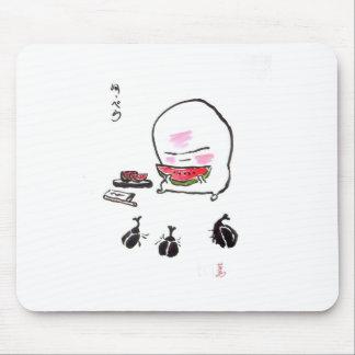 kun- 1 del nuppera - sandía tapetes de ratones