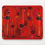 Kuna Indian Guitars Mouse Pad